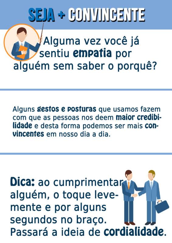 Infografico 02 estudos da linguagem corporal